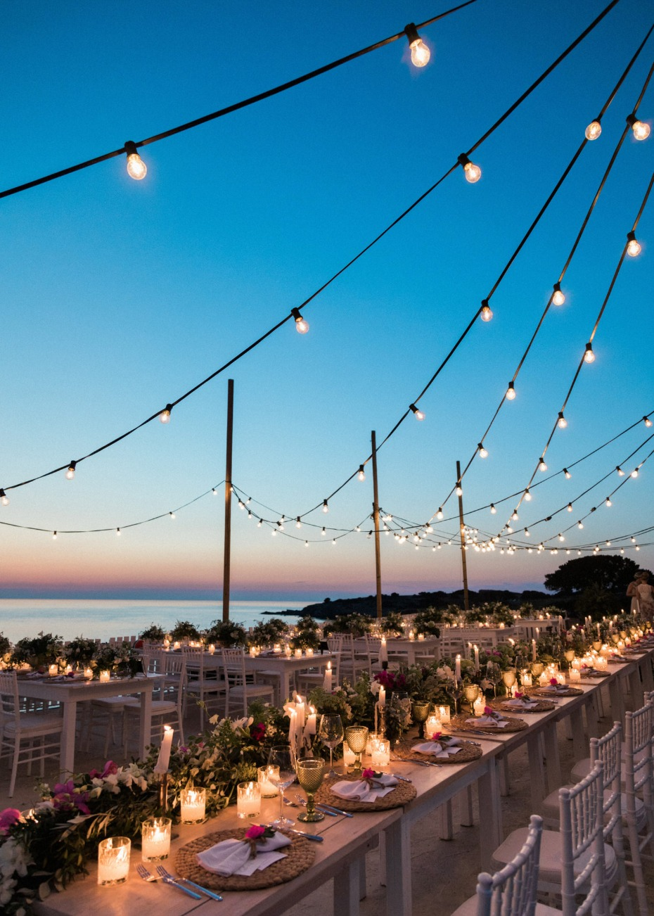 Picturesque reception in Greece