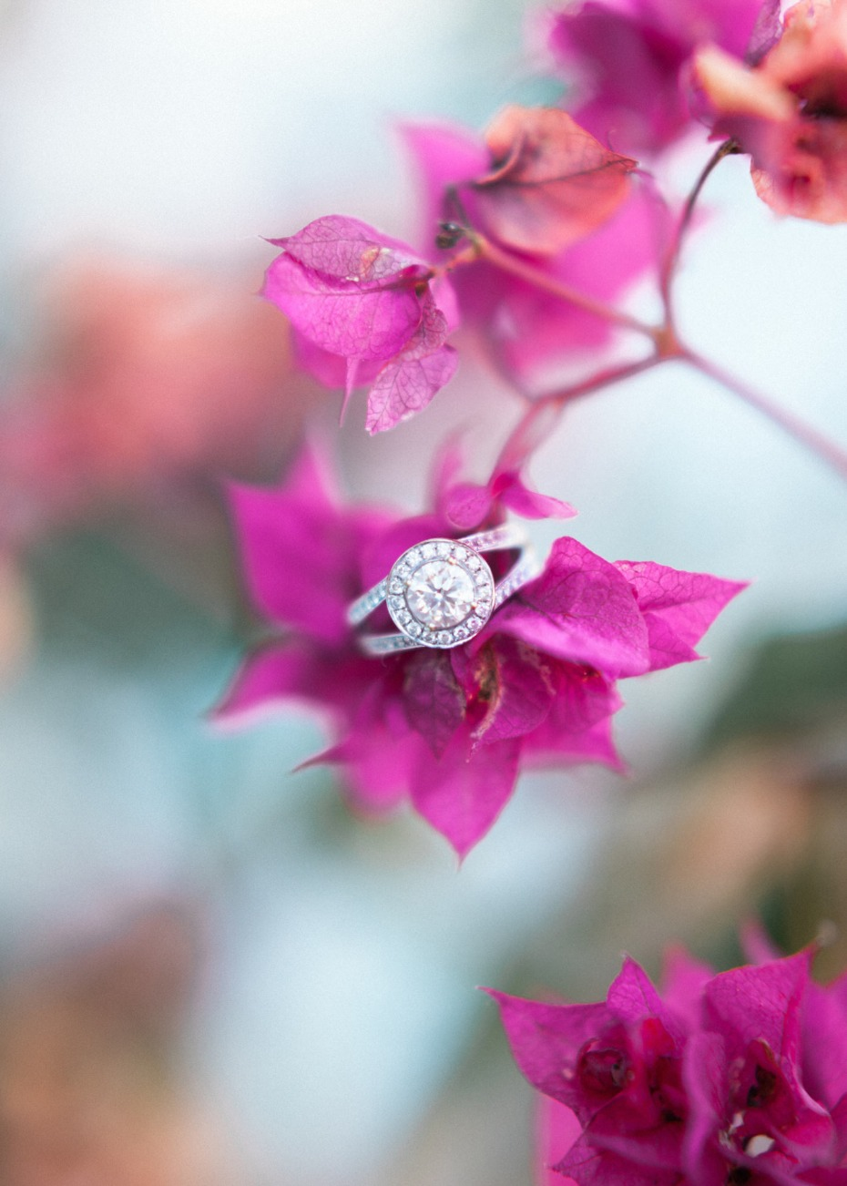 Sparkly wedding ring