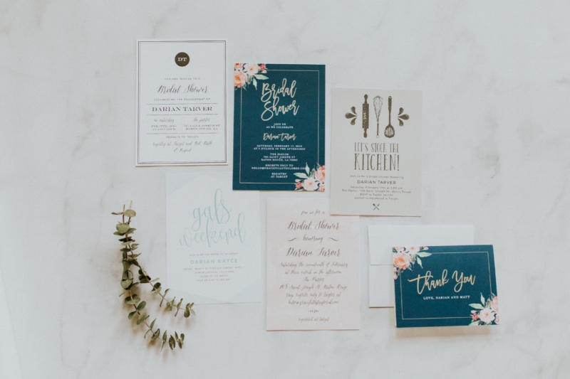 You can never have enough bridal shower inspiration! Choose from watercolor washes to floral designs and everything in between.