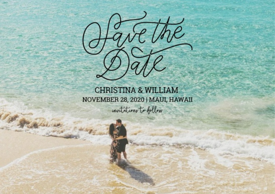 Wedding Chicks Free Printable Save the Date - Angie Diaz Photography