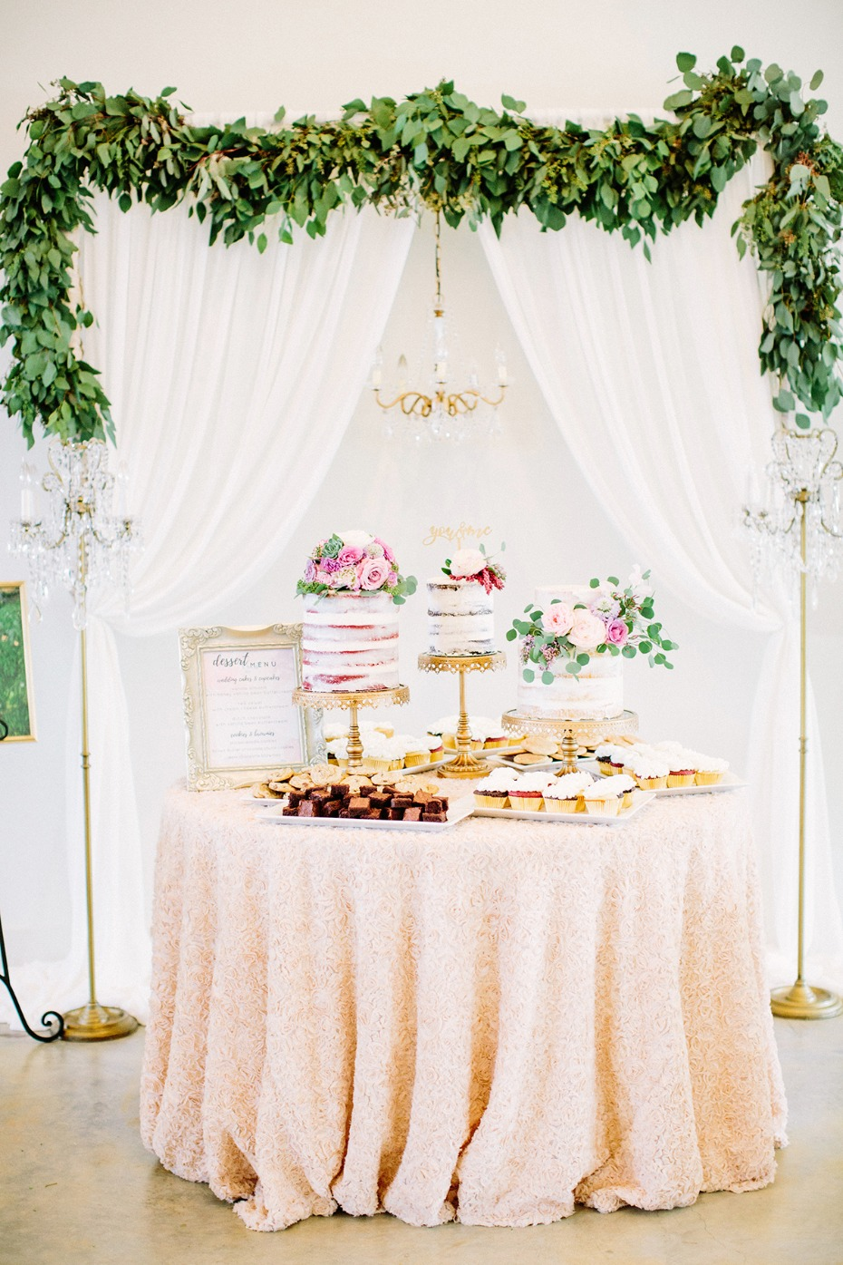Sweetest cake table