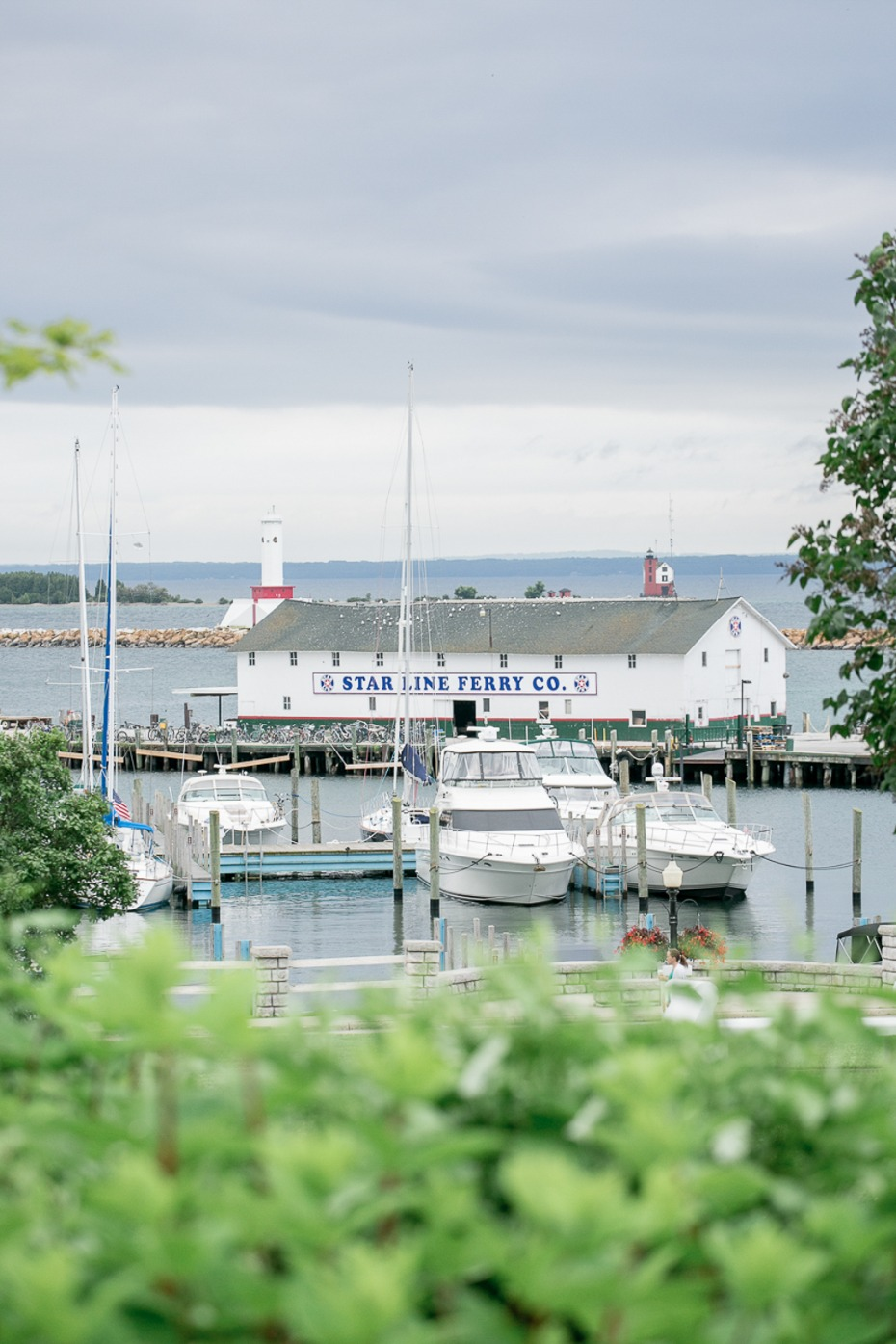 port on Mackinac Island