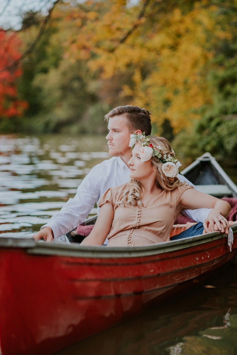 Falling in love in a canoe