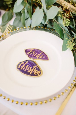 This 54k Wedding is Filled with Lavender and Gold