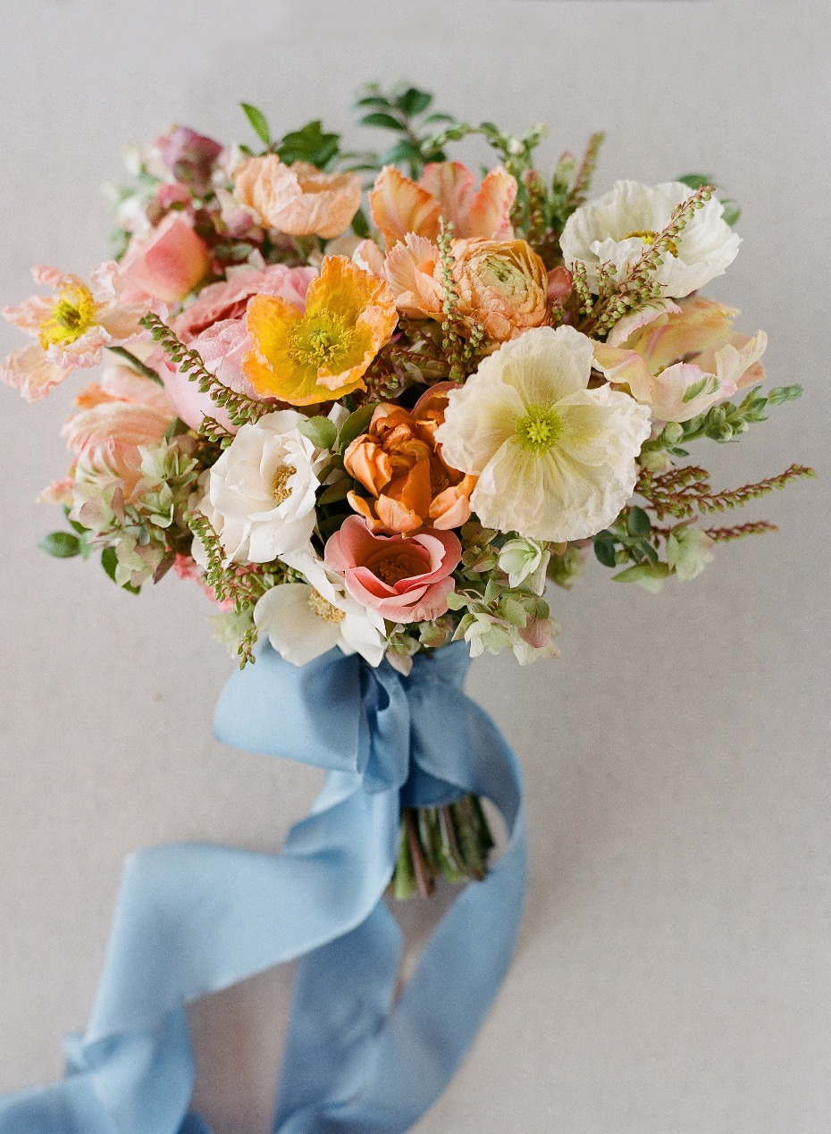 Spring Wedding Bouquet by Joel Serrato