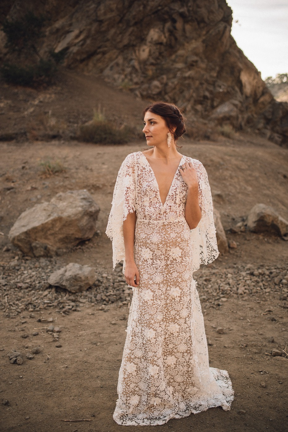 boho dream Milo Gown by Sarah Seven
