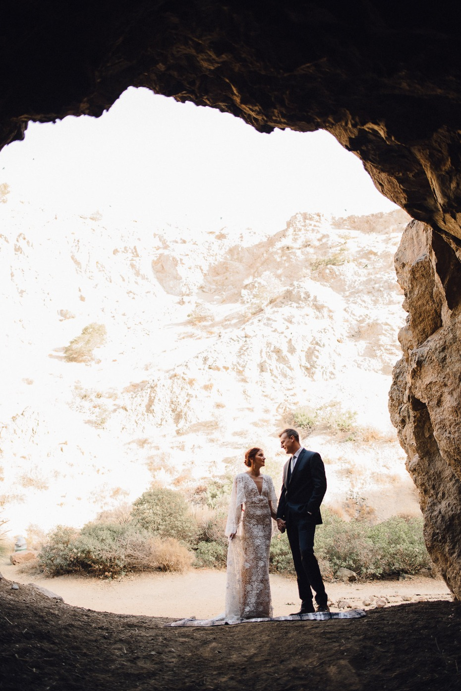 The Bronson Canyon Caves bohemian wedding ideas