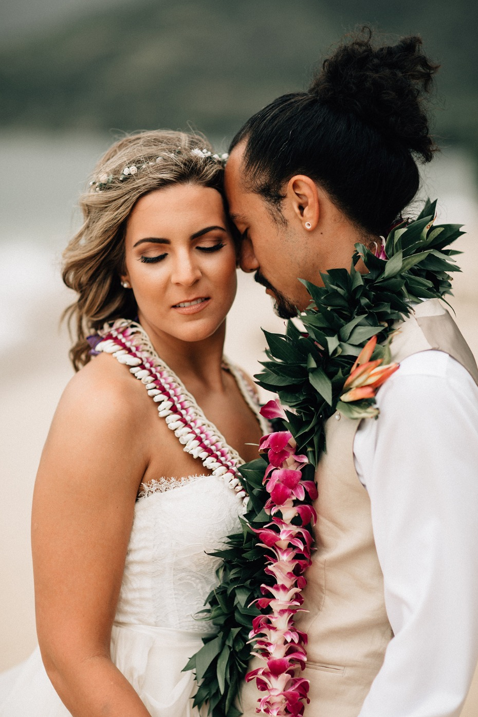 just married on Hawaii