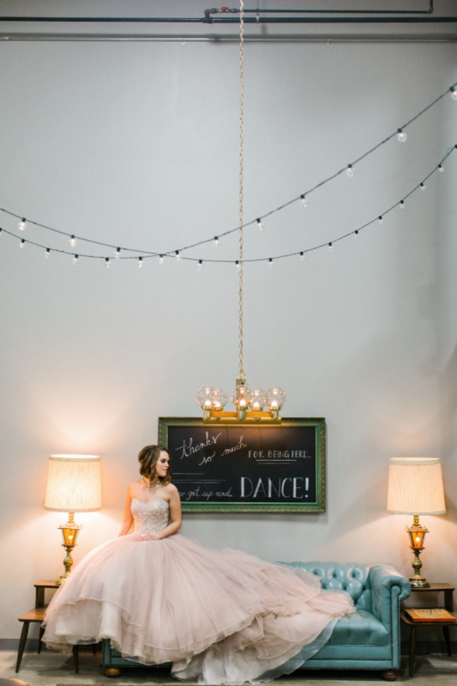 industrial chic pantone inspired wedding