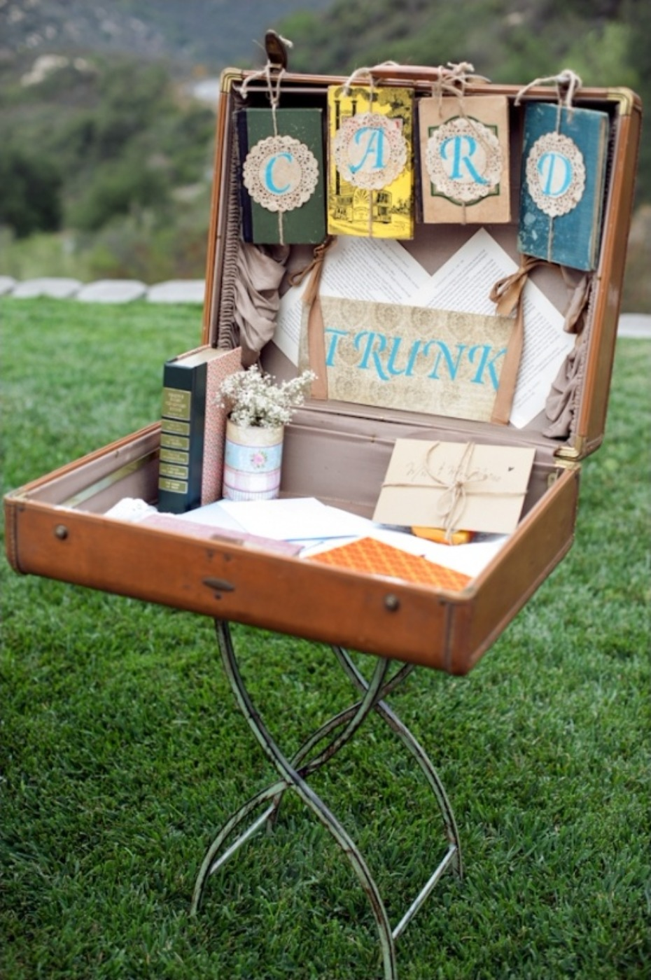 vintage bookworm wedding