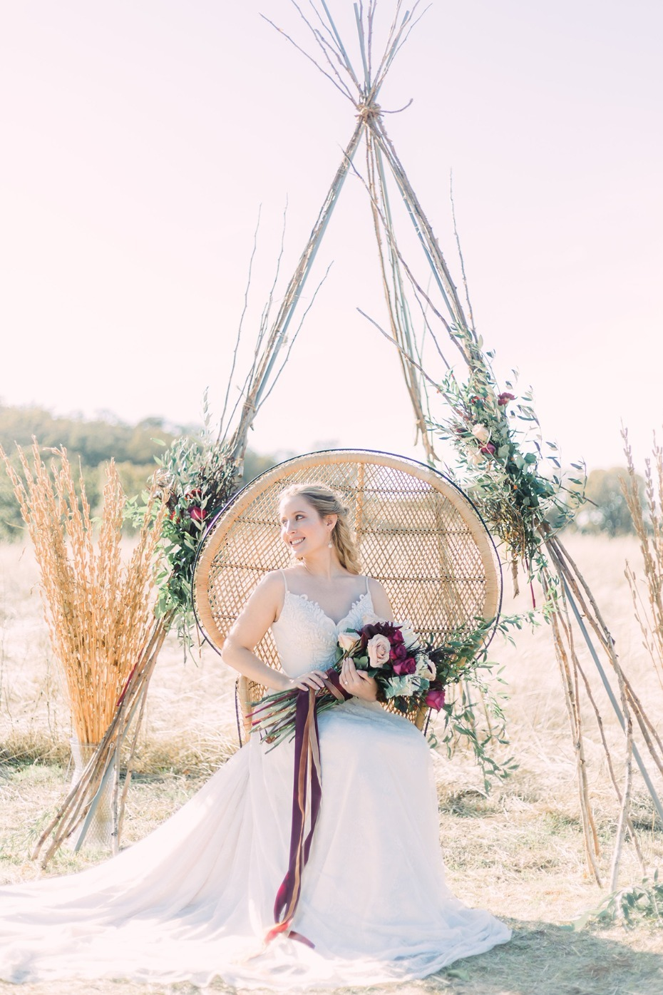 colorful bright and free wedding ideas for the bohemian bride
