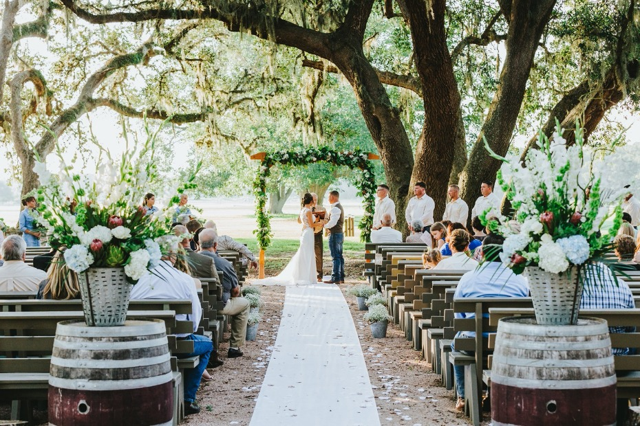 rustic texas vineyard wedding ideas