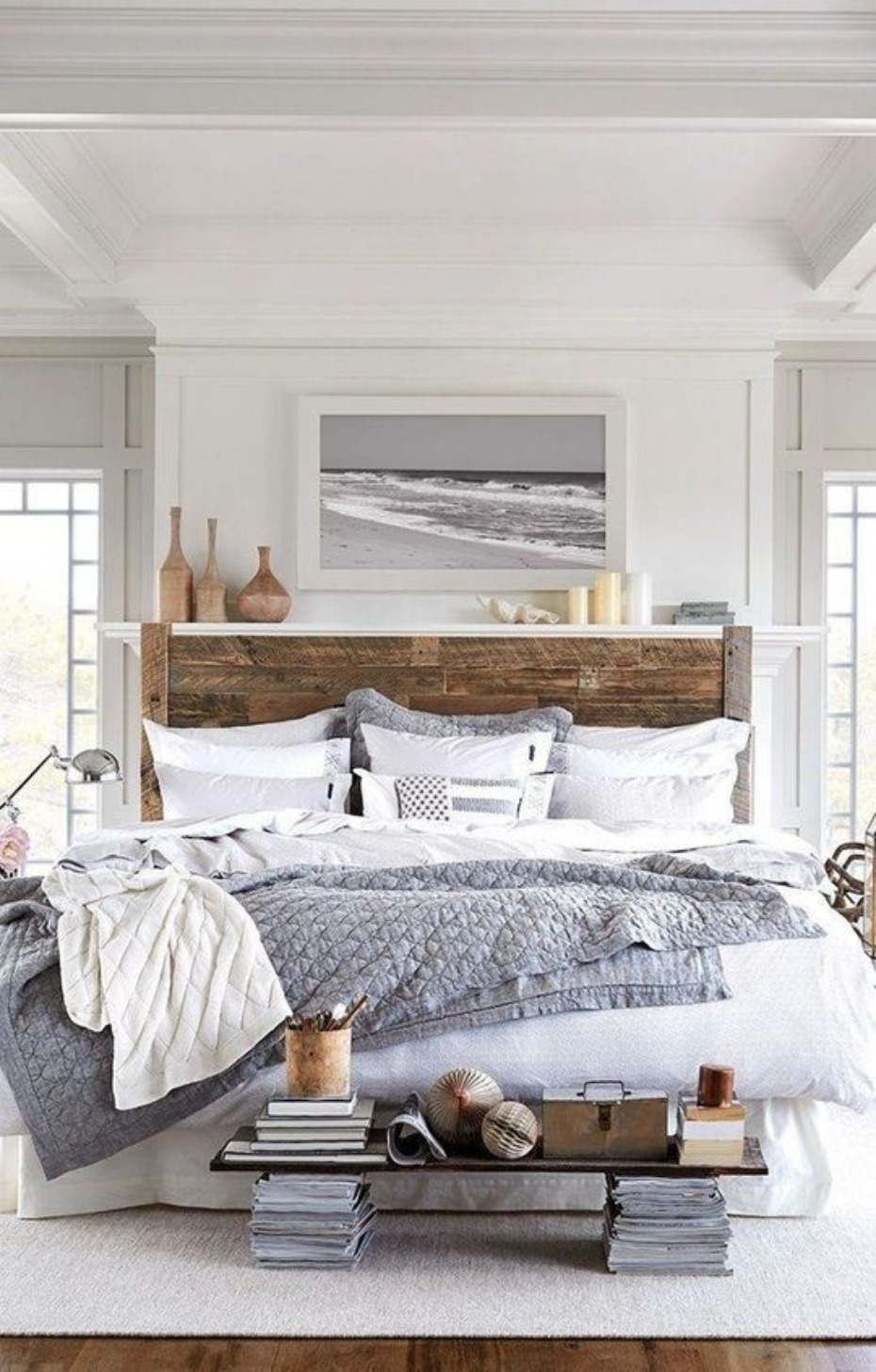 rustic country bedroom idea