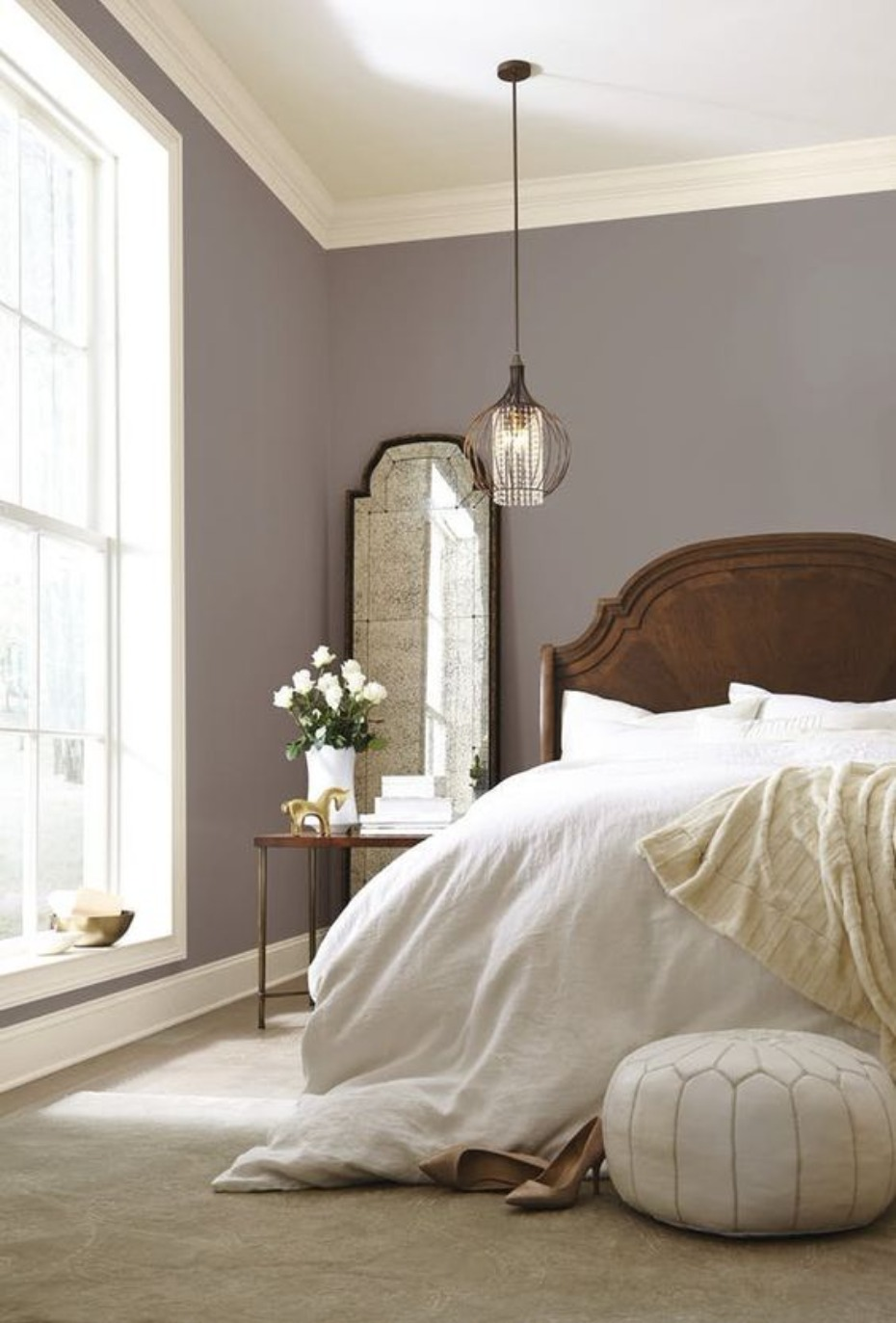 southern inspired bedroom idea