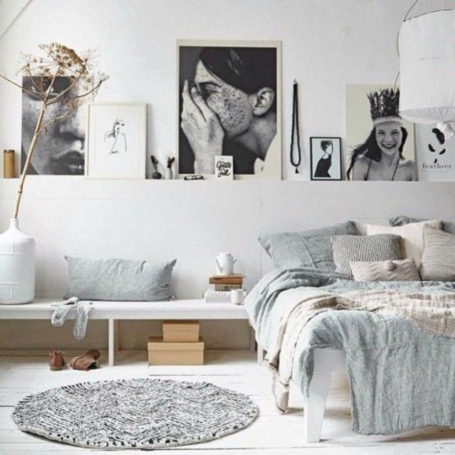 modern romance bedroom idea