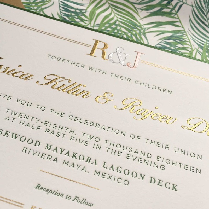 All this snow and cold has us dreaming of a destination wedding! 🌴 So, we couldn't wait to share Jessica and Raj's stunning