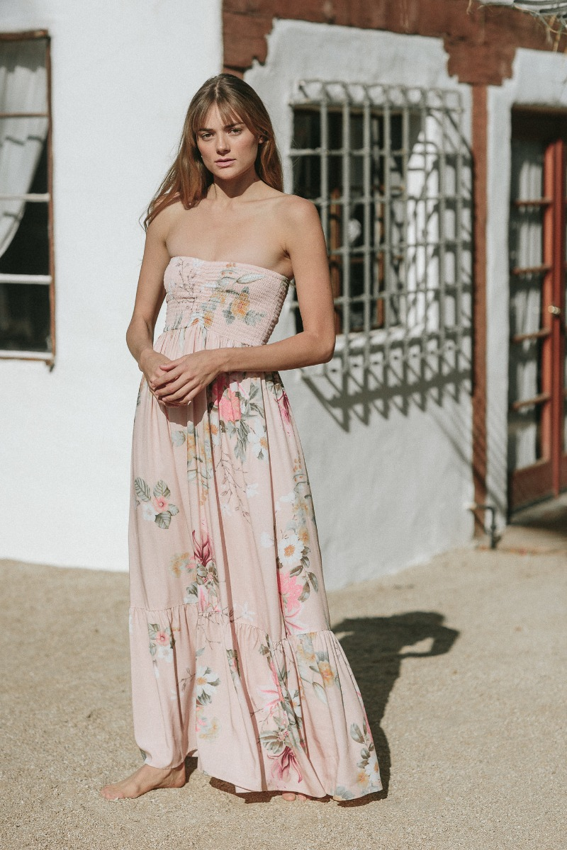 Summer bridesmaid dress inspo for more of a casual beachy look.