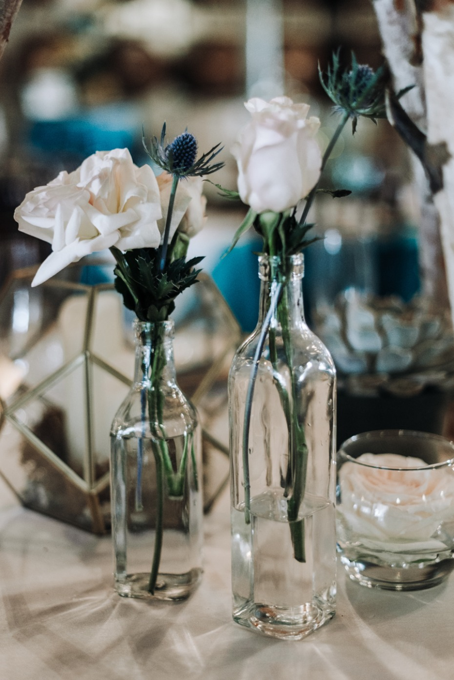 bud vase wedding centerpiece