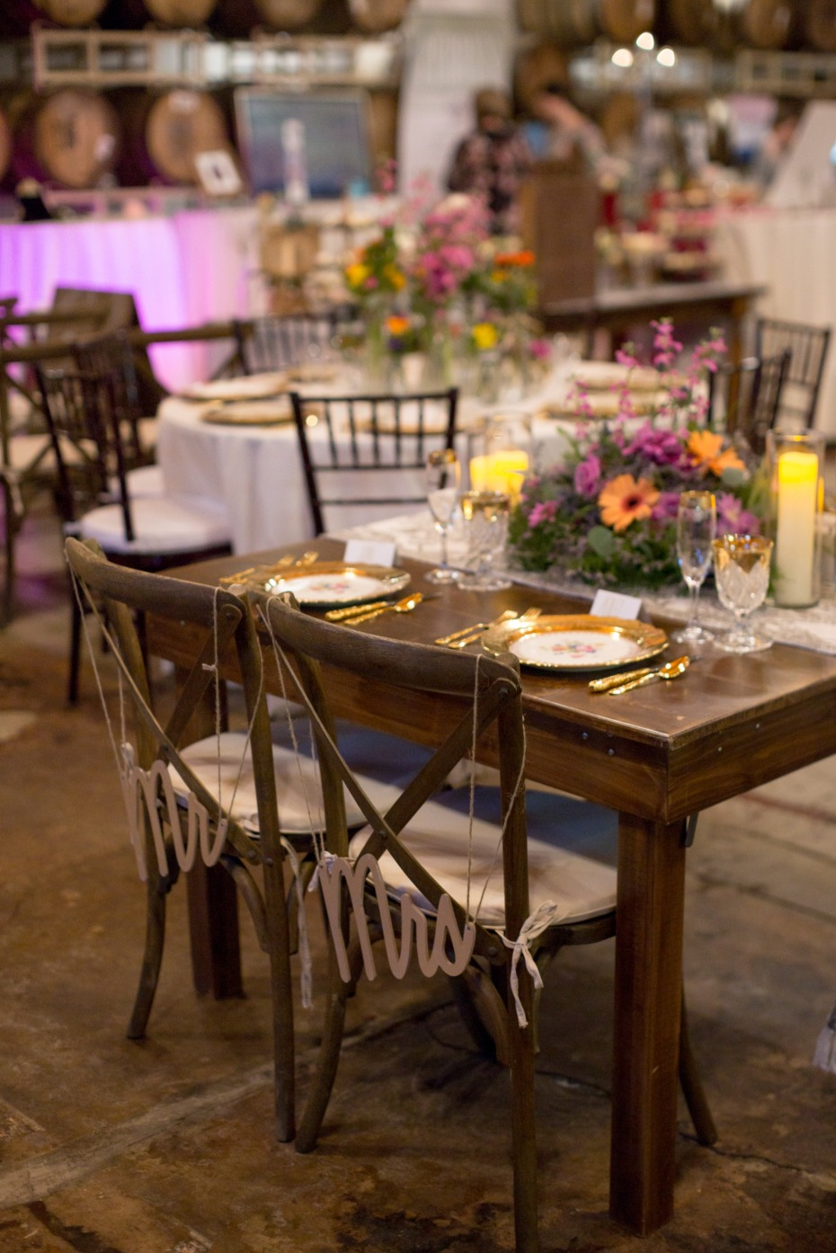 sweetheart table decor idea