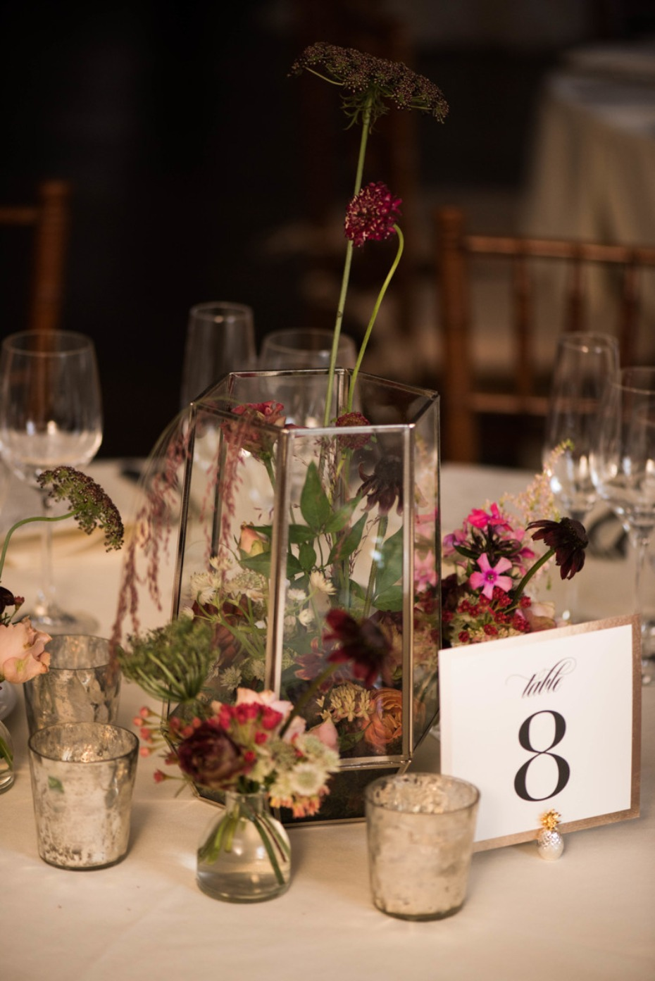 Unique floral centerpiece