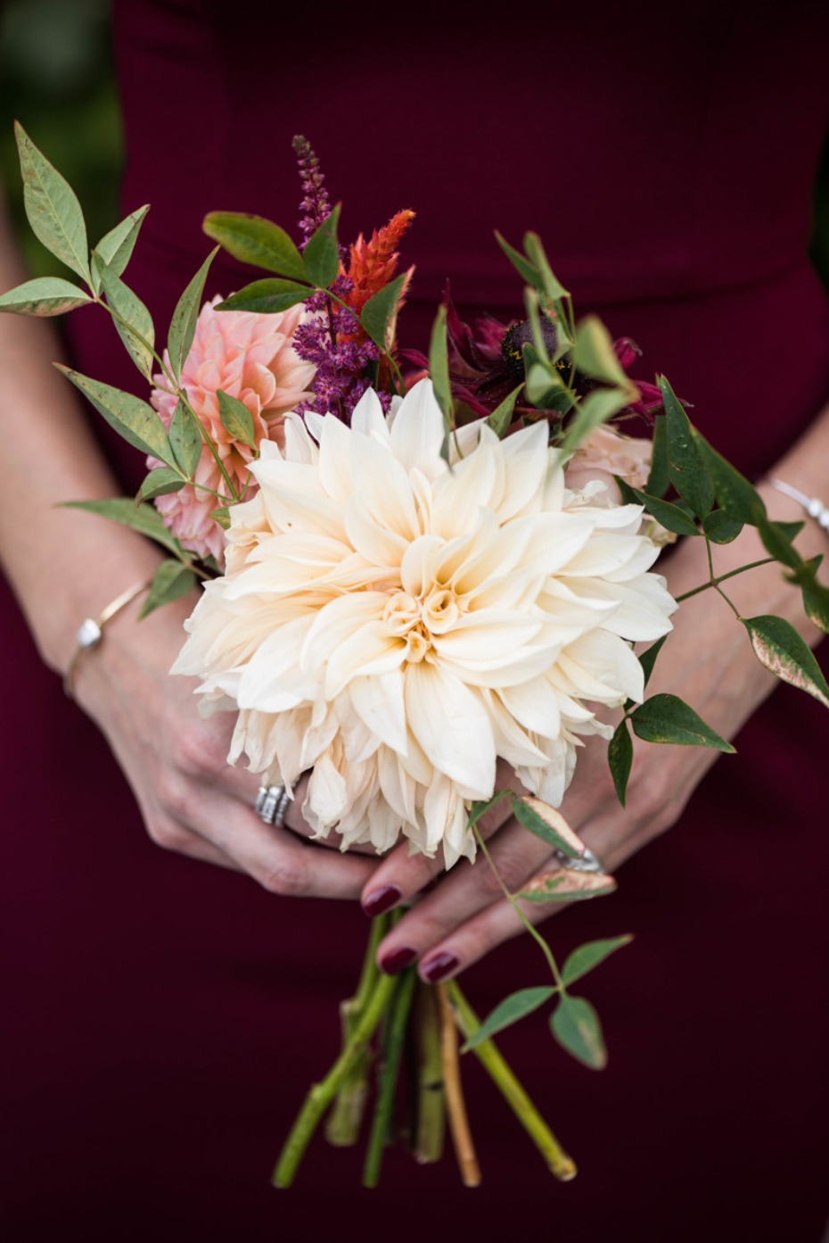 Simple bridesmaid bouquet
