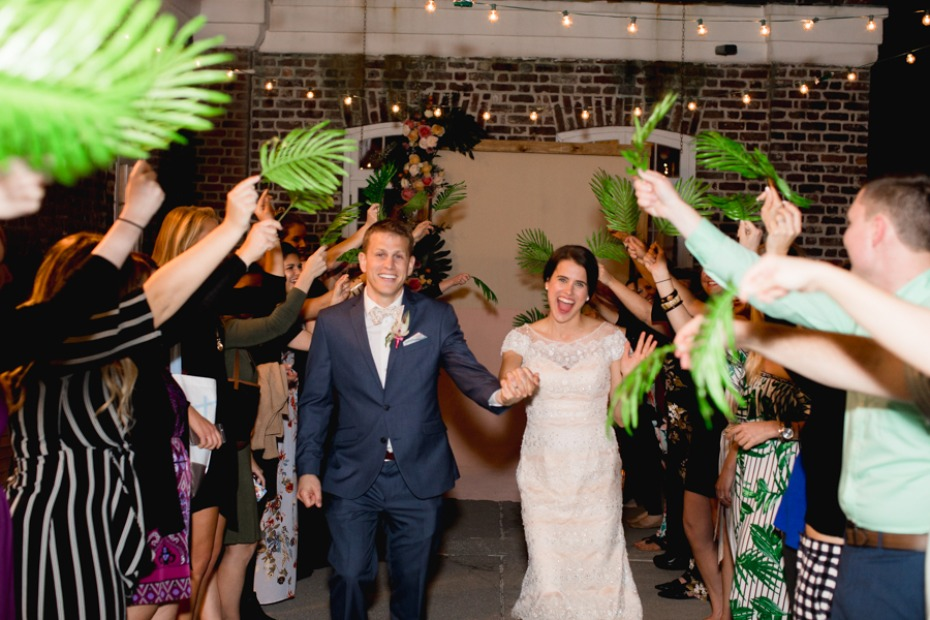 wedding palm exit