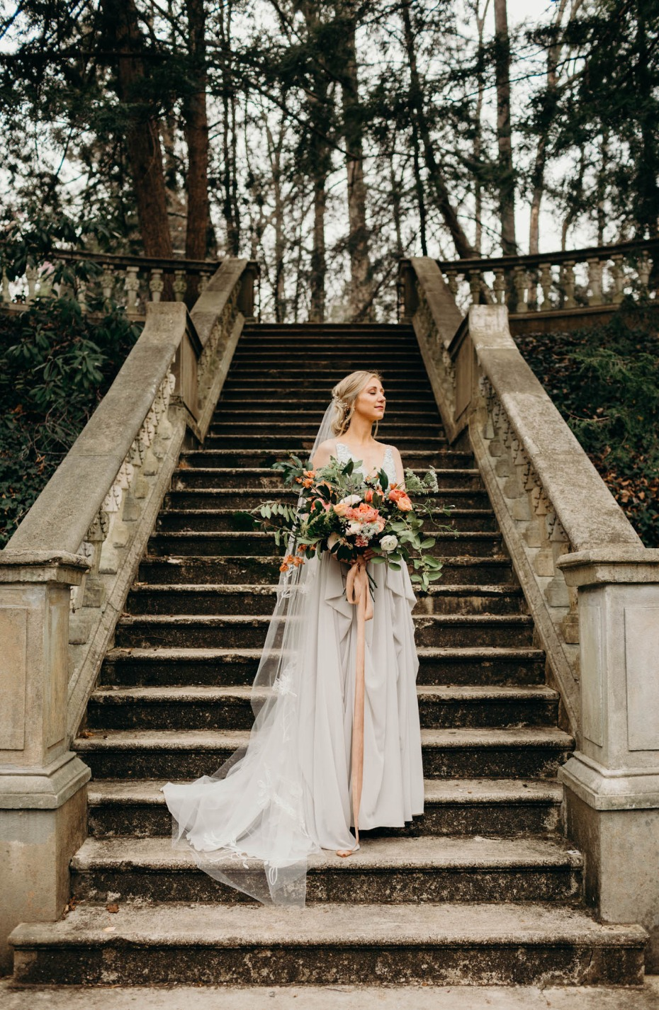 wedding dress from Truvelle