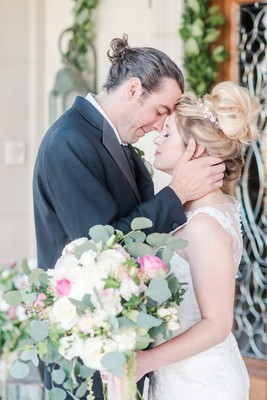 This Beautiful Pink Wedding Shoot Just Might Make You Cry