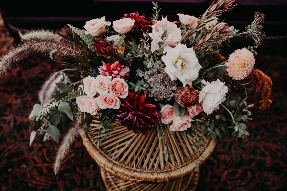 floral centerpiece idea for your fall wedding