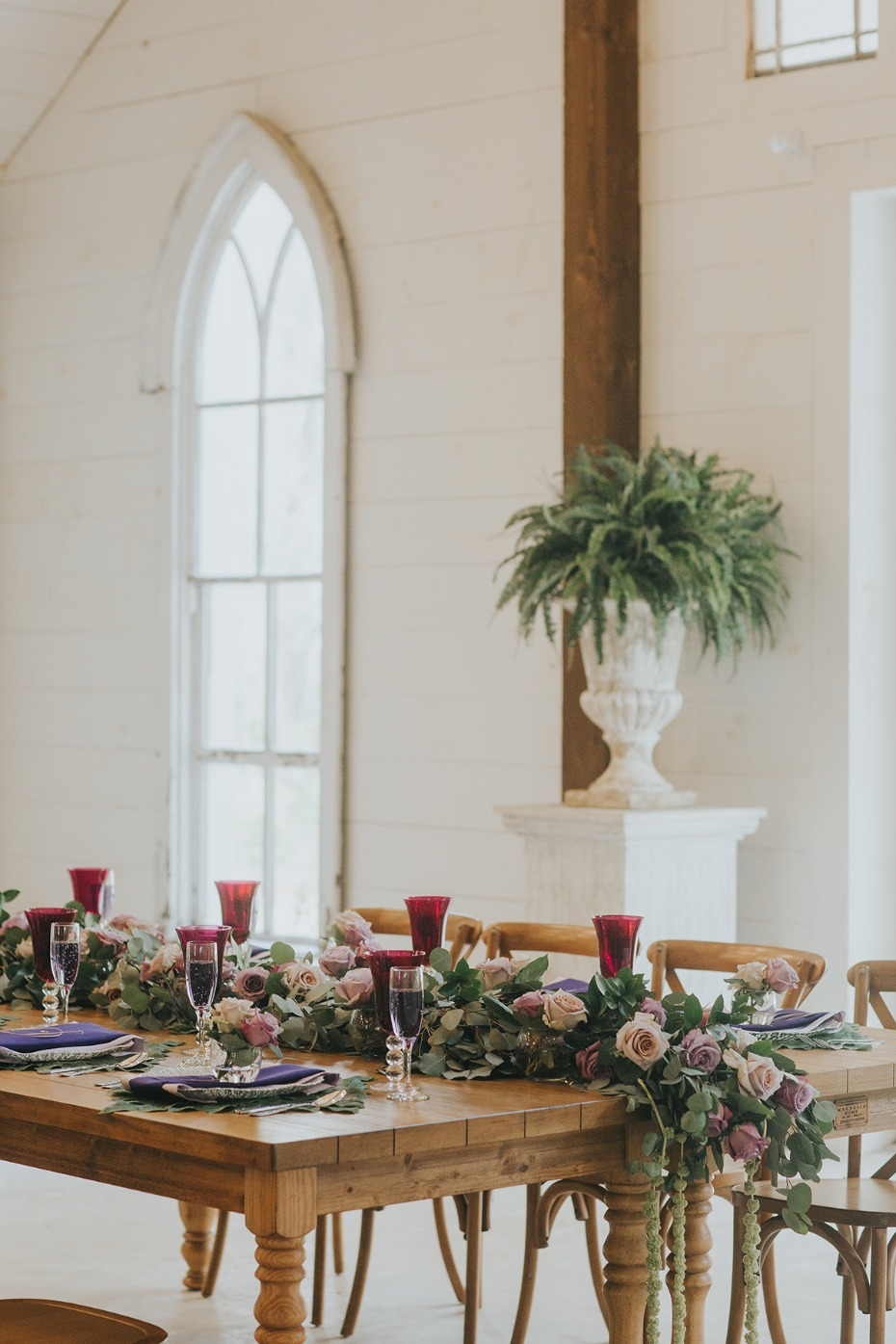 wedding table decor for your romantic rustic wedding
