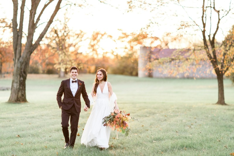 WINTER WEDDING EDITORIAL AT GREAT MARSH ESTATE