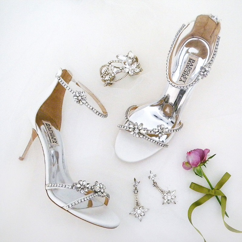 Hello Spring Brides! Find everything you need after the dress. Wedding Shoes, bridal jewelry, headpieces and accessories. Shown: Badgley