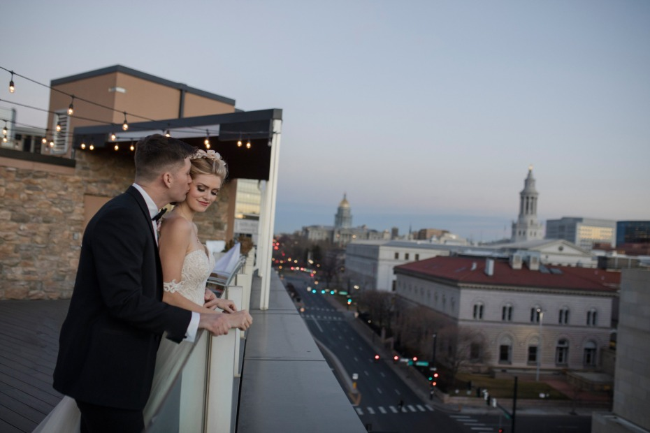 roof top wedding venue in Denver