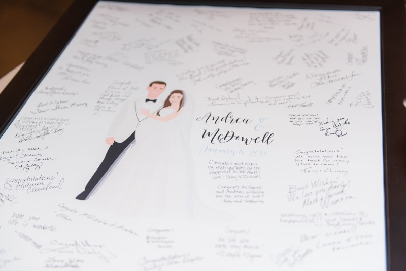 Miss Design Berry's guest book alternatives are the perfect way to capture all the sweet and lovely messages from your guests on your
