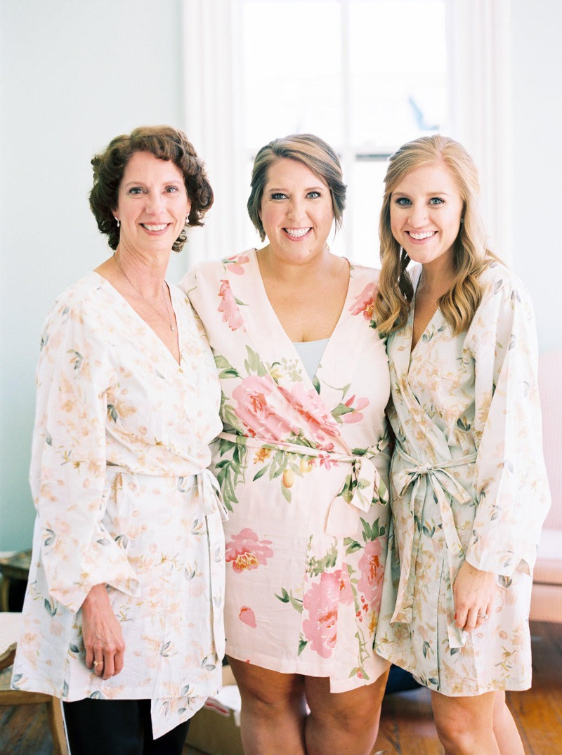 Mix and Match your Bridal Squad in florals and flutter sleeves.