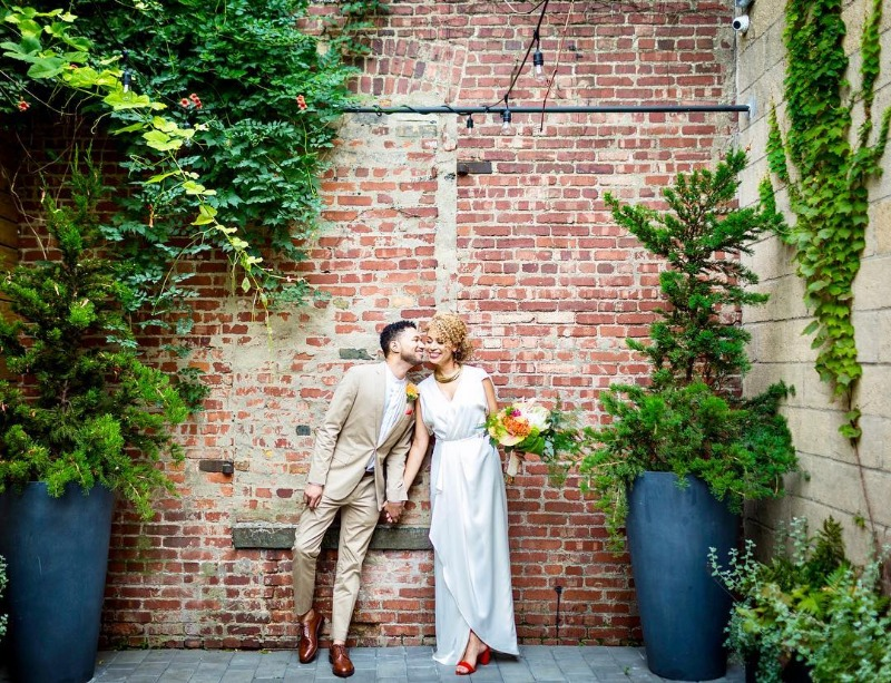 Hidden courtyard of love! If you are looking for a venue for your big day, you need to check out the amazing luxury event space in
