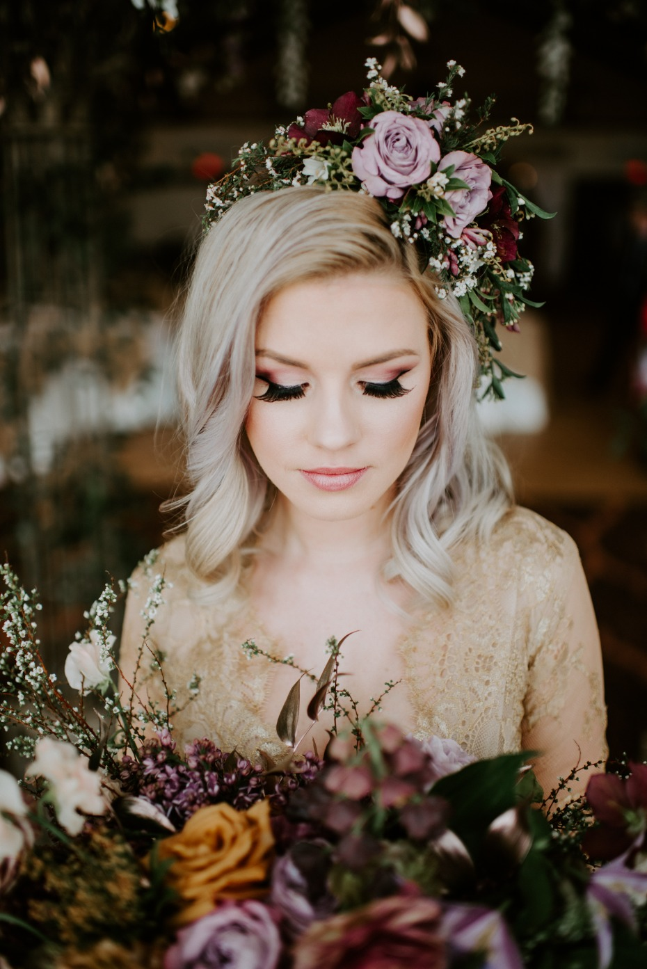 Dream bridal makeup and hair