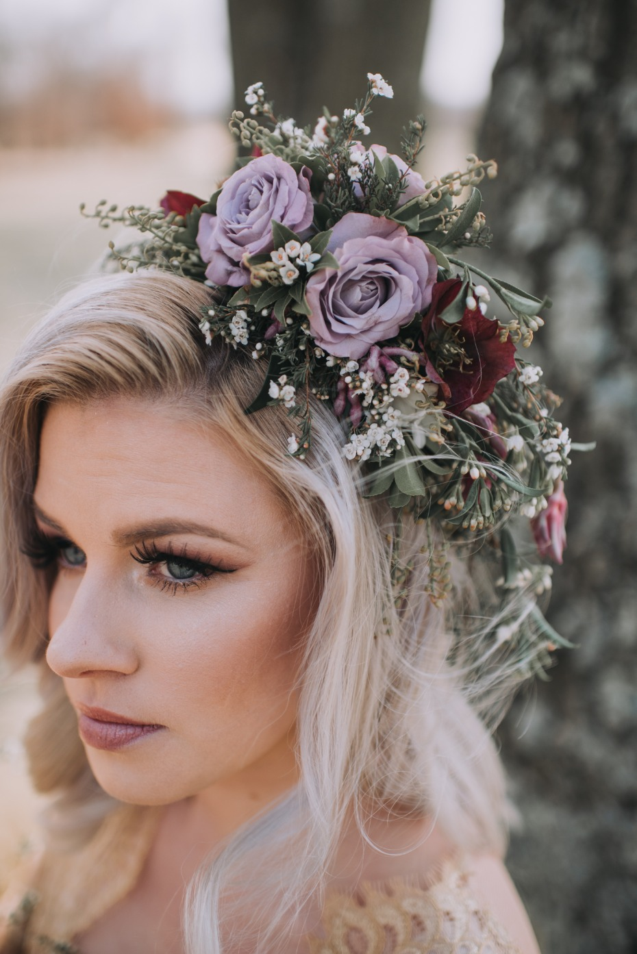 Gorgeous floral crown