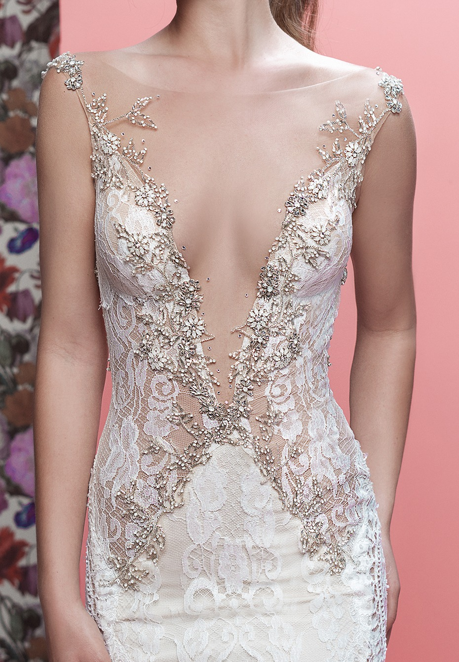 sexy lace wedding gown by Galia Lahav - The Luca