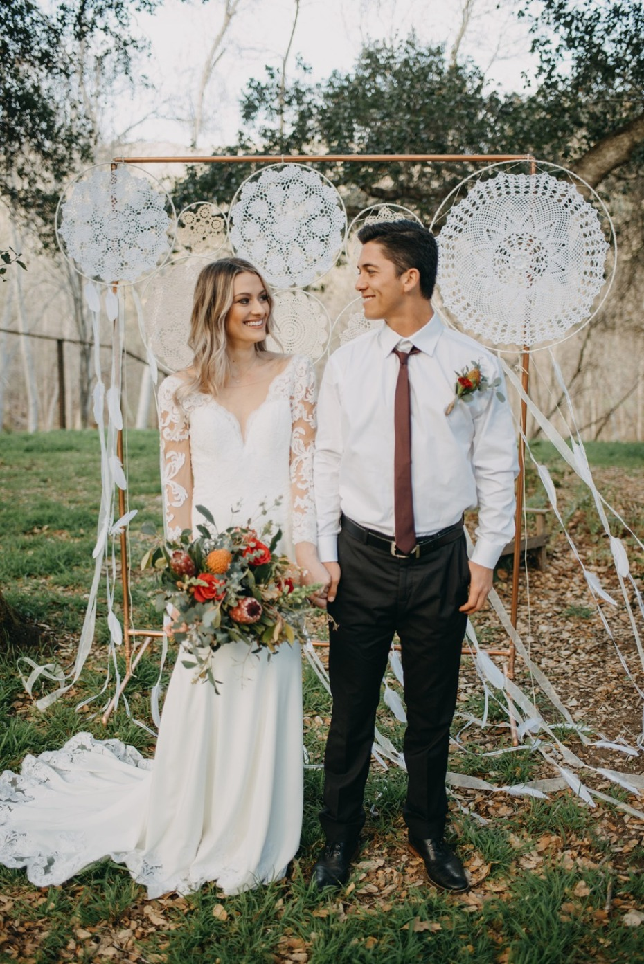 How A Few Hard Working Elements Can Make Your Boho Wedding
