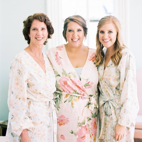 Bridesmaid Robes. Plus Size.