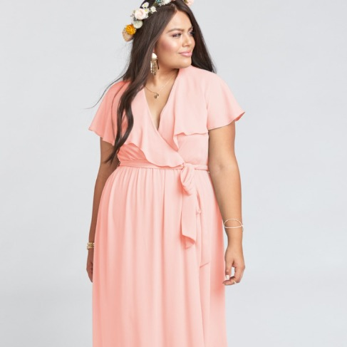Audrey Maxi Dress. Show Me The Ring Crisp.