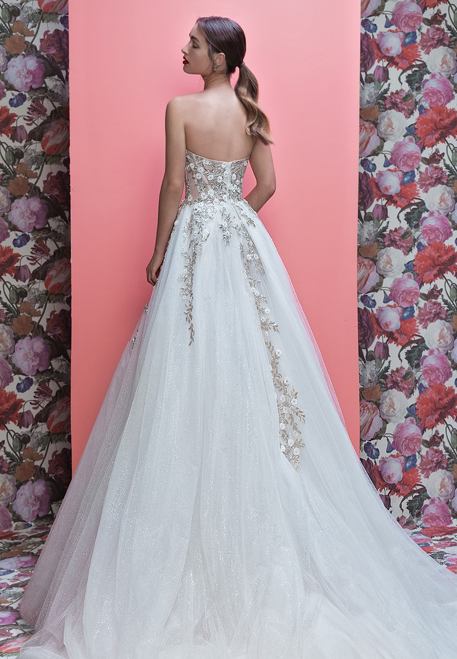 Glam Wedding Dresses From Galia Lahav And The Cakes That Match Them
