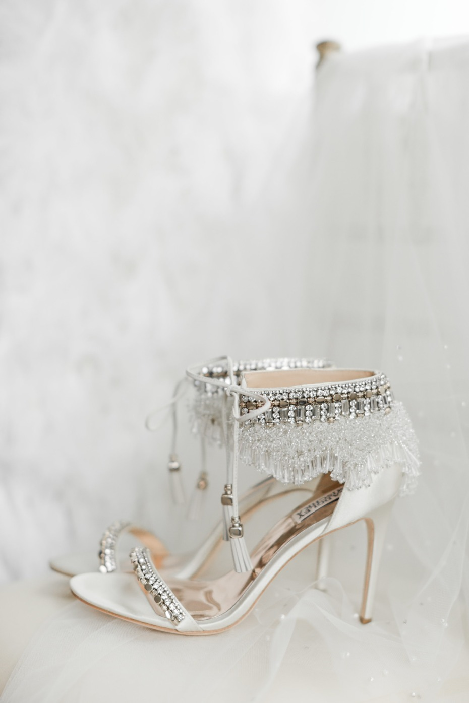 Bride heels from Badgley Mischka