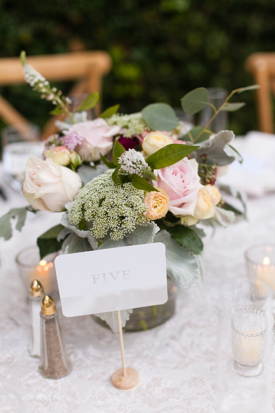 elegant wedding table number