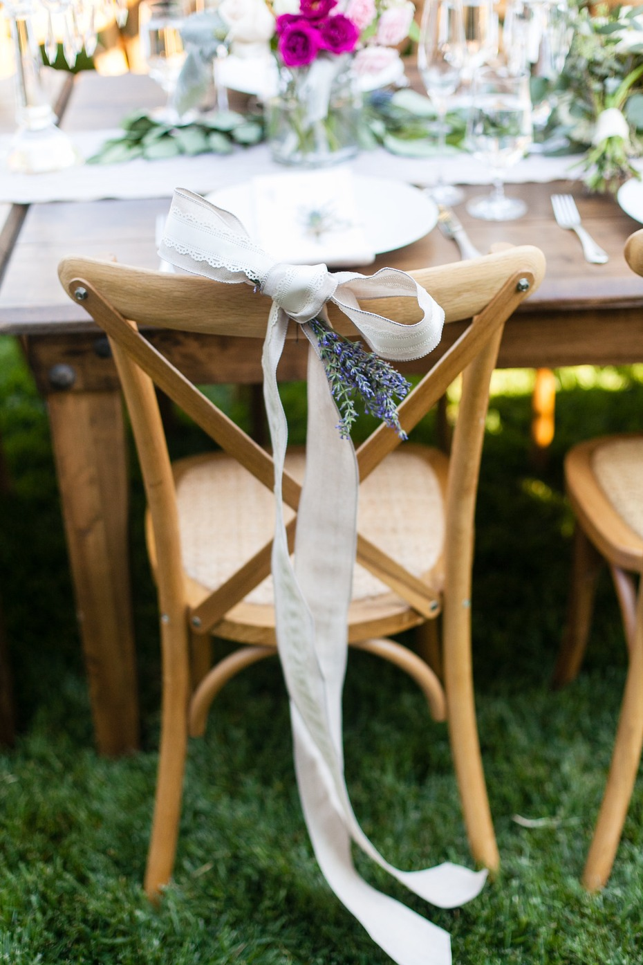 wedding seat decor