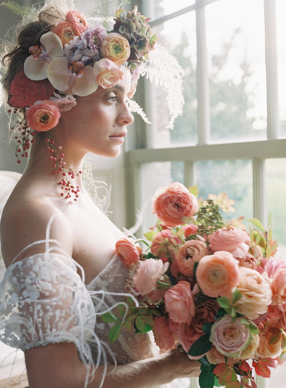 spring time bridal style