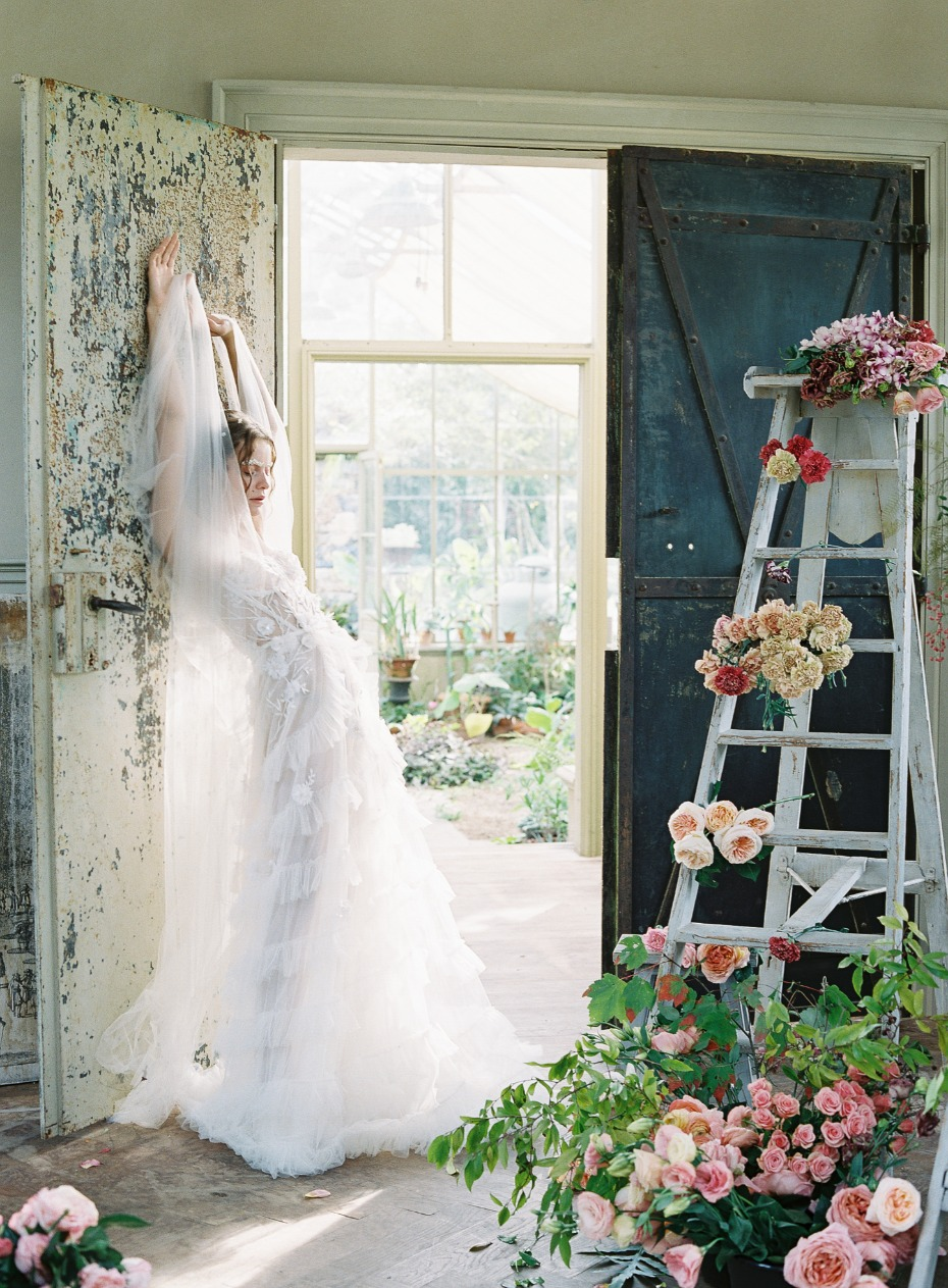 bridal style for your Spring wedding