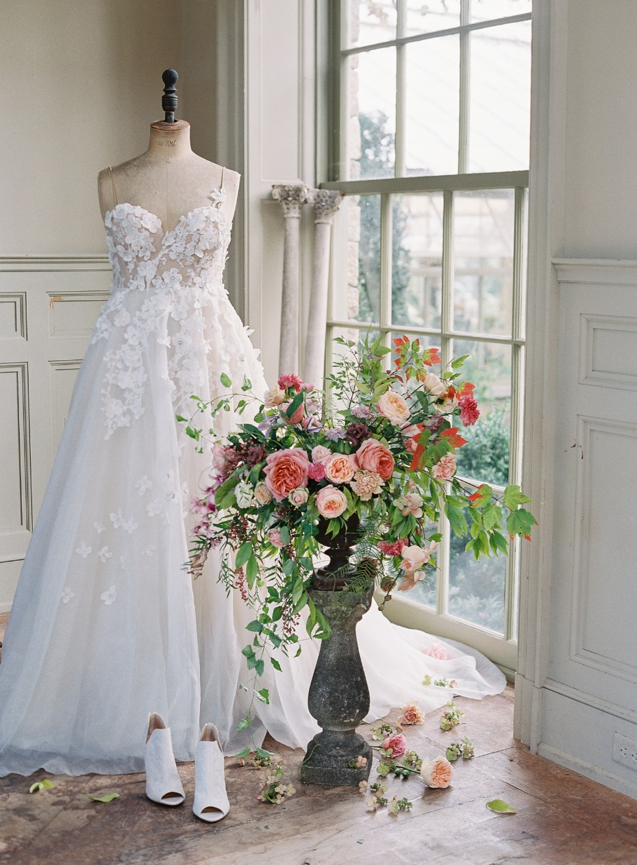 wedding dress for your spring wedding