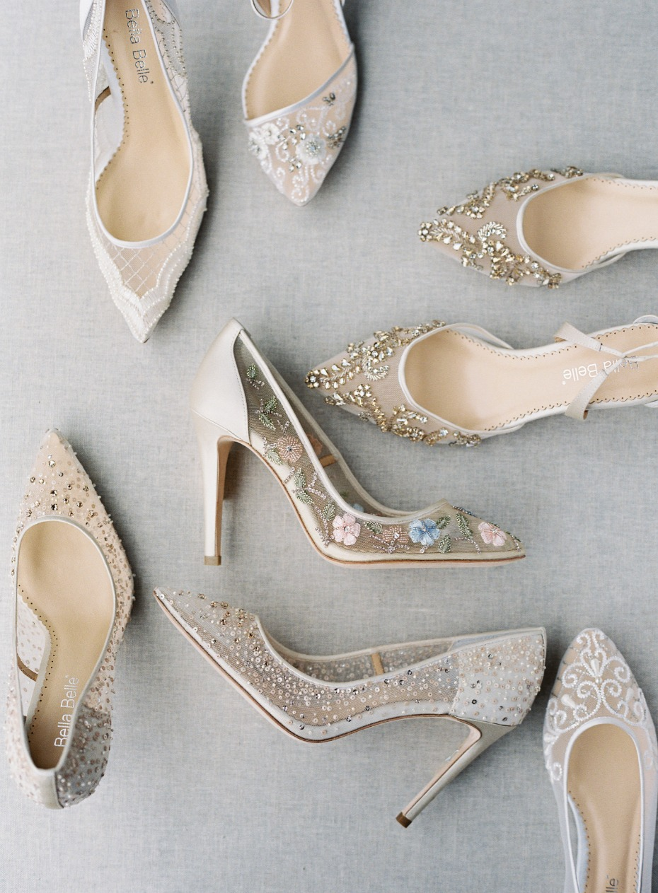 wedding shoes by Bella Belle